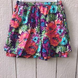 Garnet Hill small floral skirt